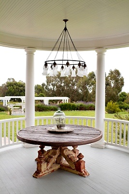 Outdoor Gazebo Chandelier Lighting Home Decor