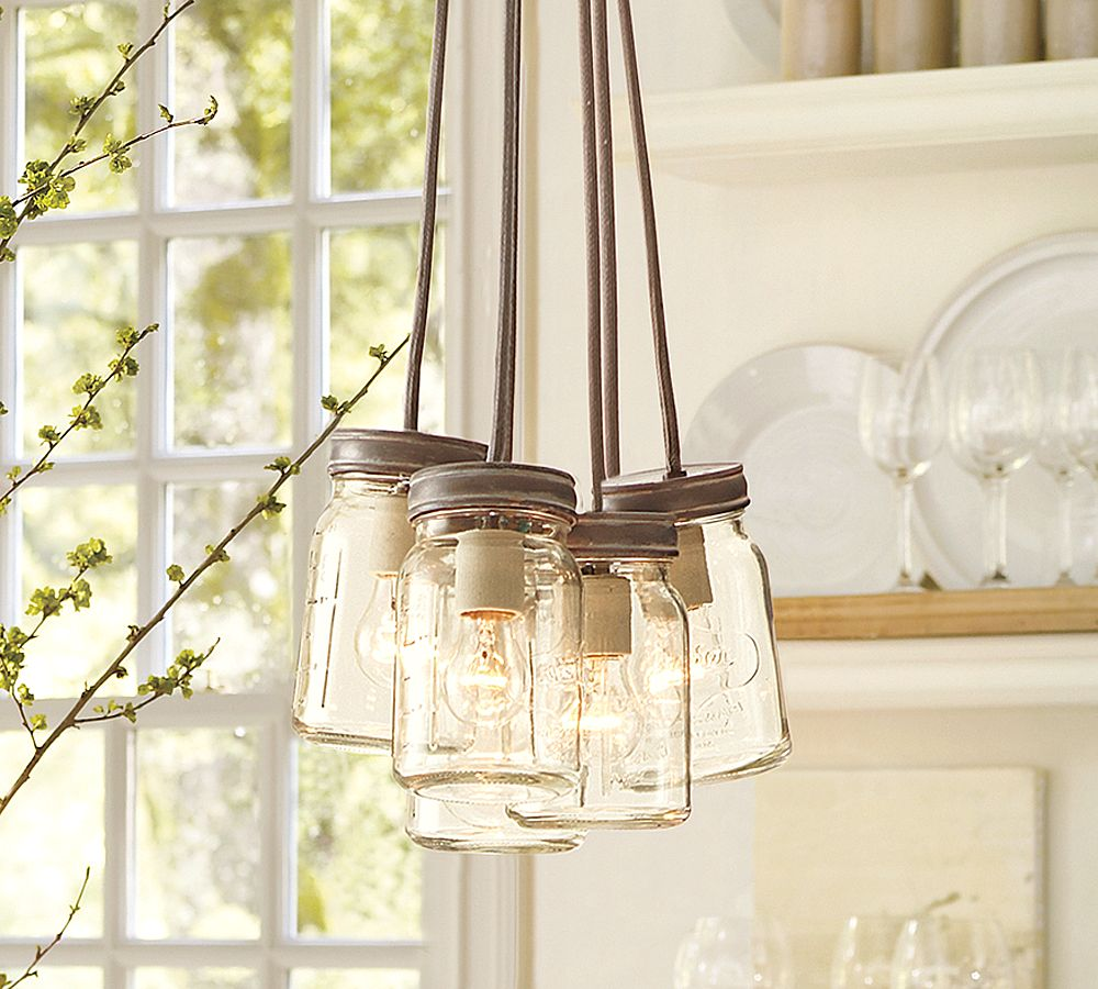 Patio lighting options ways to light up your patio for Hanging lights made from mason jars