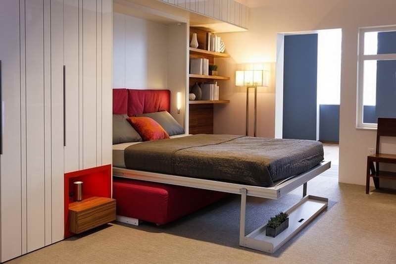 IKEA Murphy Bed Free Up Space In Your Bedroom - Building a murphy bed ikea