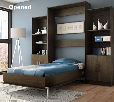 ikea murphy bed free up space in your bedroom. Black Bedroom Furniture Sets. Home Design Ideas