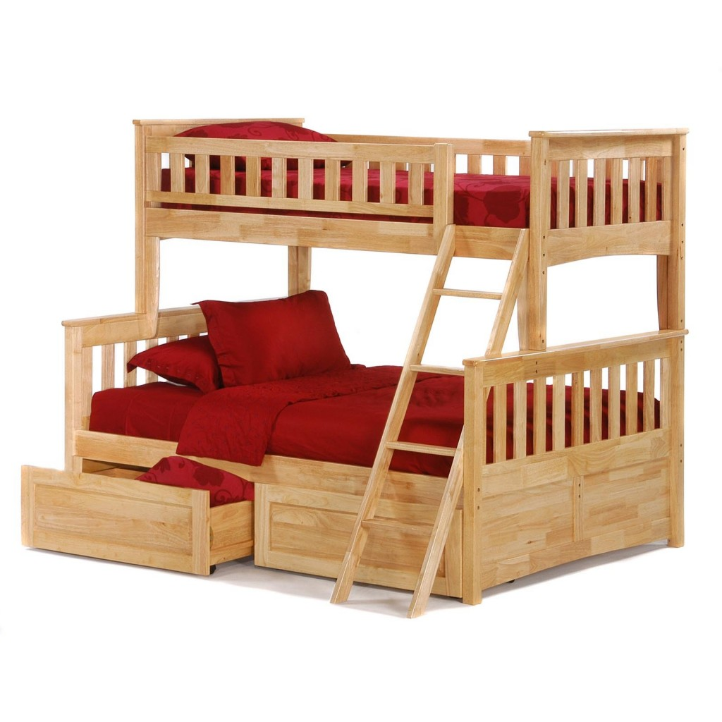 ... to accommodate them, a twin over full bunk bed is a popular choice