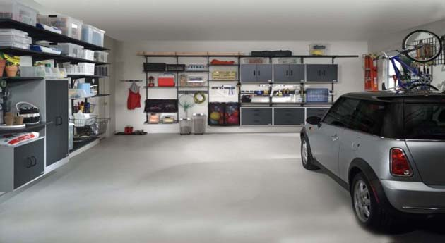 Garage storage solutions for home
