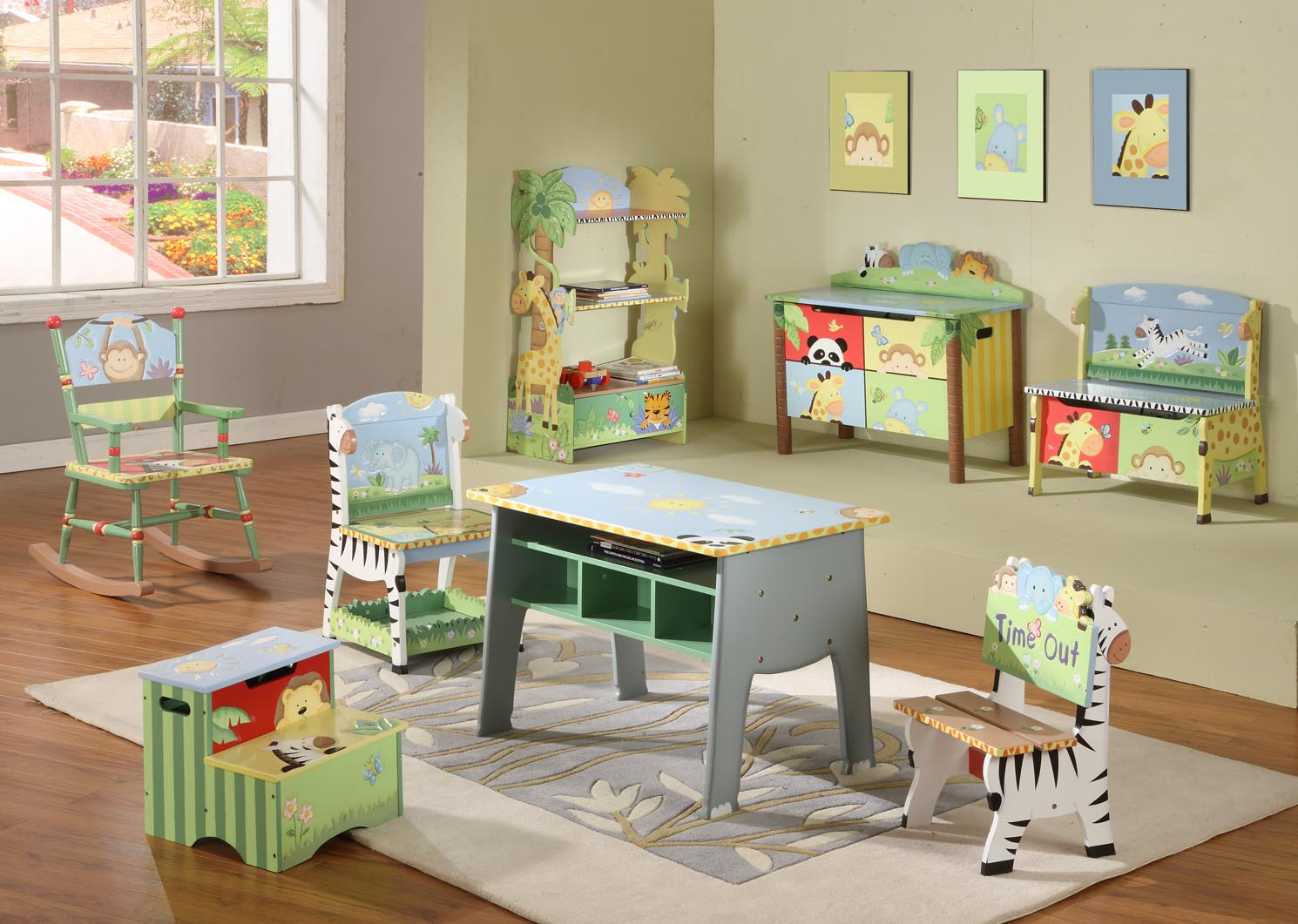 Kids playroom ideas playroom decorating guide for Dixversion meuble
