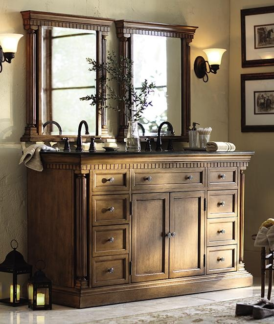 Beautiful bathroom vanity mirrors