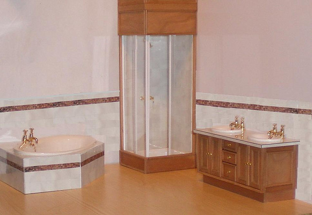 Corner Shower Units