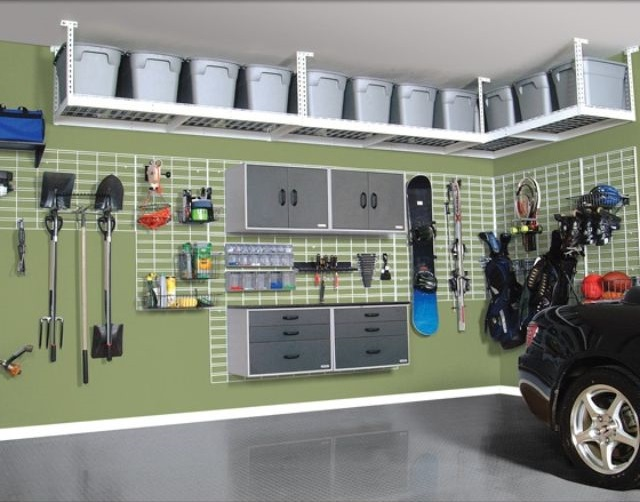 Garage Tool Organization Ideas Organized