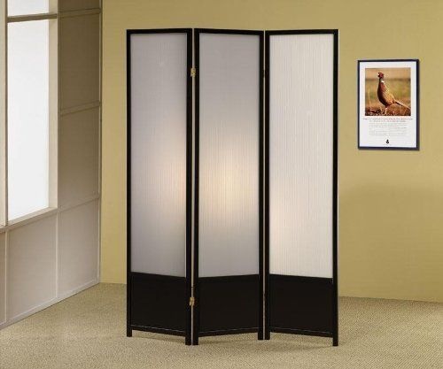 3-panel screens room dividers