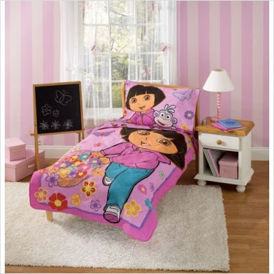Dora The Explorer Bedroom theme