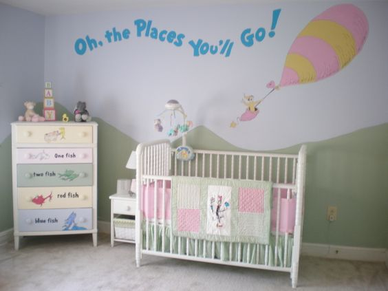 Dr. Seuss Baby Room