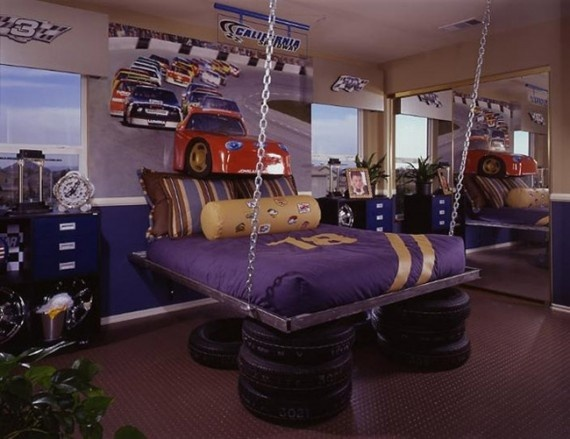 NASCAR_theme_bedroom