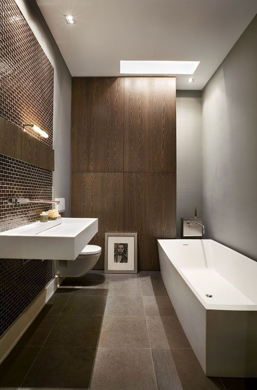 Good Modern Apartment Bathroom Ideas Part - 6: Apartment-bathroom-design Simple Modern Apartment Bathroom Decoration