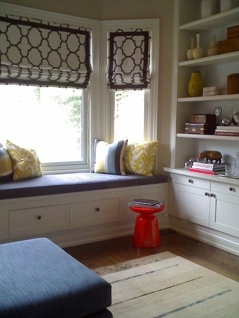 Bay Window Treatments How To Beautify Your Bay Window
