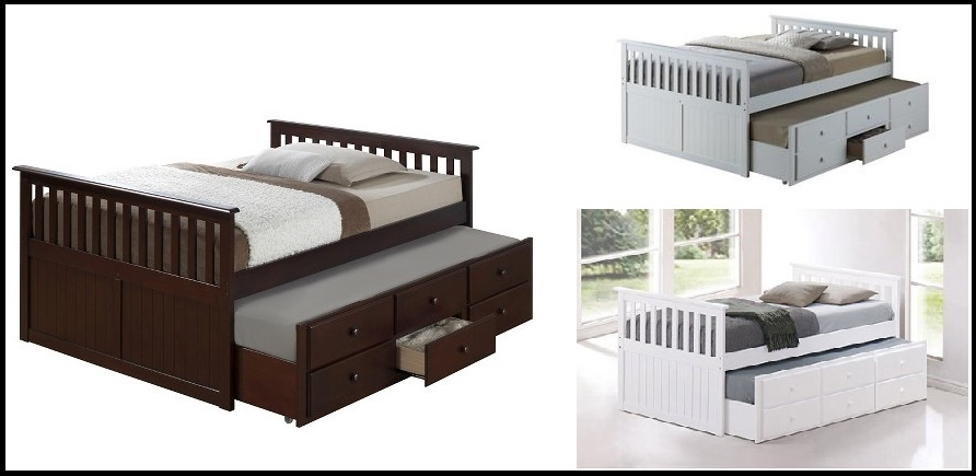Broyhill Kids Marco Island Captain's Bed with Trundle Bed and Drawers