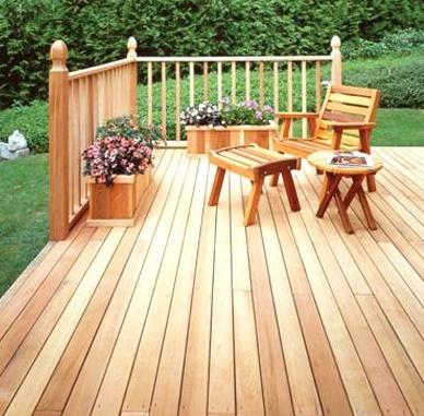 Red Cedar Decks