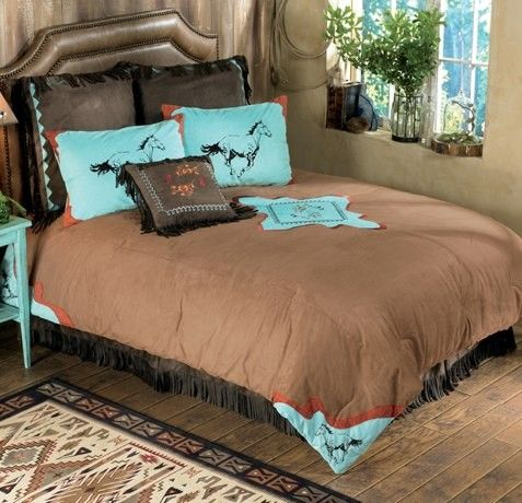 cowboy horse theme bedroom