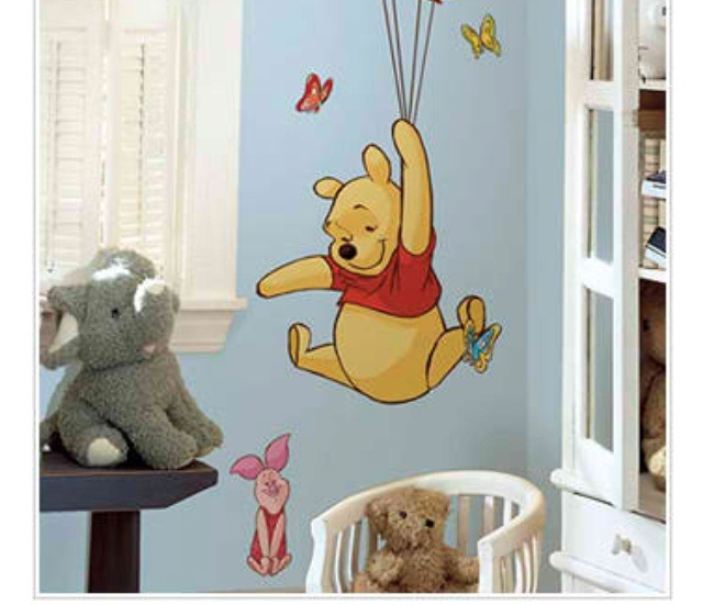 cute winnie the pooh wall decals