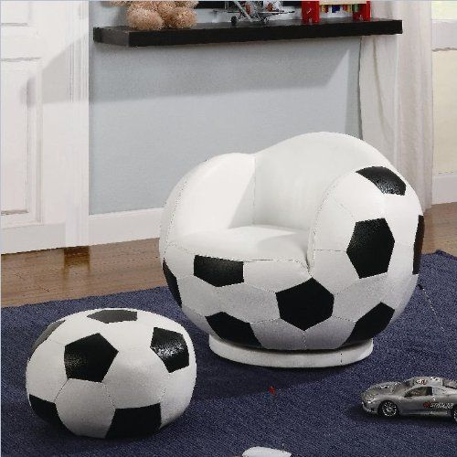 football sofa in playroom