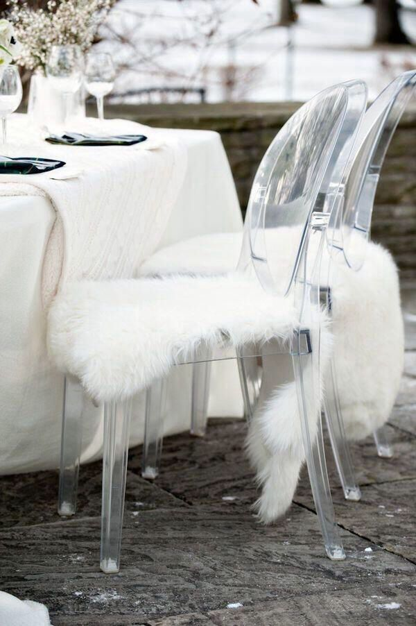 ghost chair fur