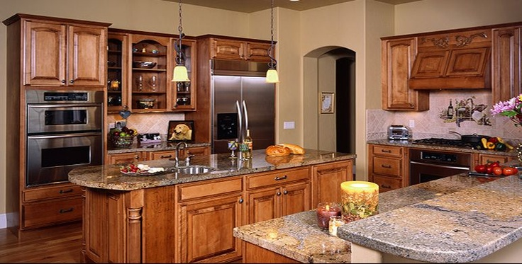 Types of kitchen cabinets for home kitchens for Semi custom kitchen cabinets