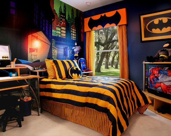 idea batman bedroom
