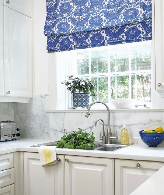 Top 3 kitchen curtain ideas for Fabric shades for kitchen windows