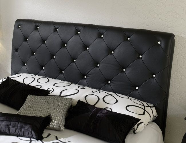 Leather headboard Design