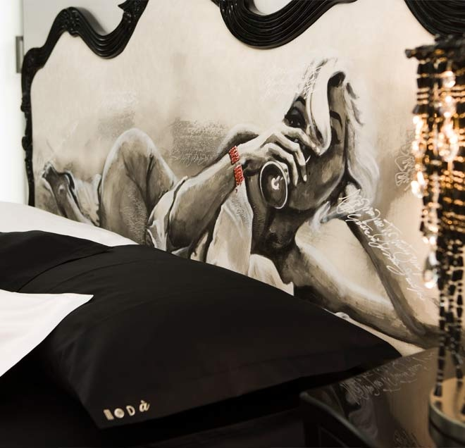 Marilyn Bedroom Decal
