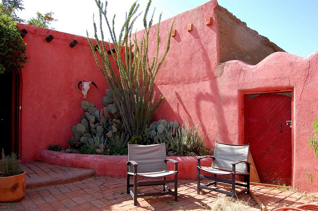 Mexican courtyard design