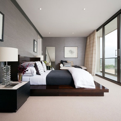 Bedroom interior design ideas top bedroom decoration ideas for Modern small flat interior design
