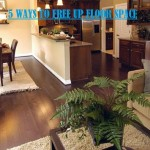 5 Tips To Free Up More Floor Space
