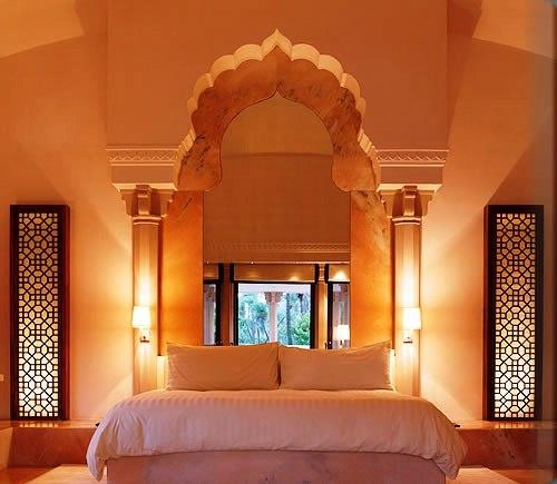 moroccan themed bedroom design