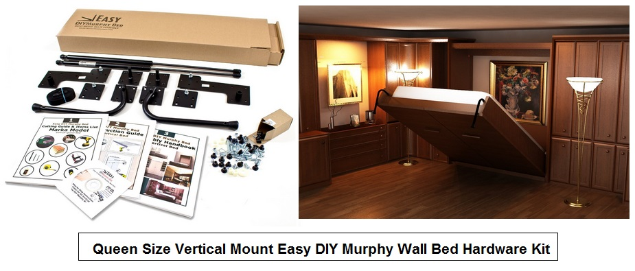 How to build a murphy bed murphy bed kit solutioingenieria Gallery