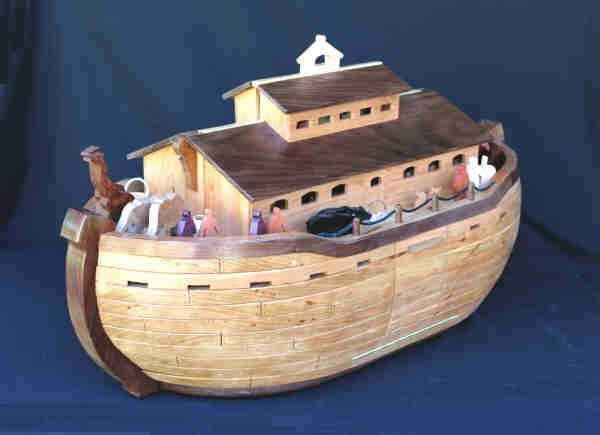 Noah's Ark design playroom