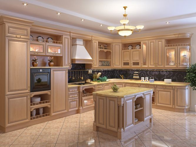 Types of kitchen cabinets for home kitchens Different types of kitchen designs