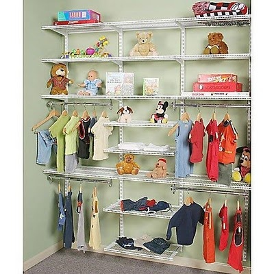 closet organization idea