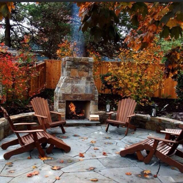 Outdoor fireplace plans building your own fireplace for How to build a small outdoor fireplace