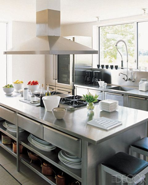 professional style kitchen