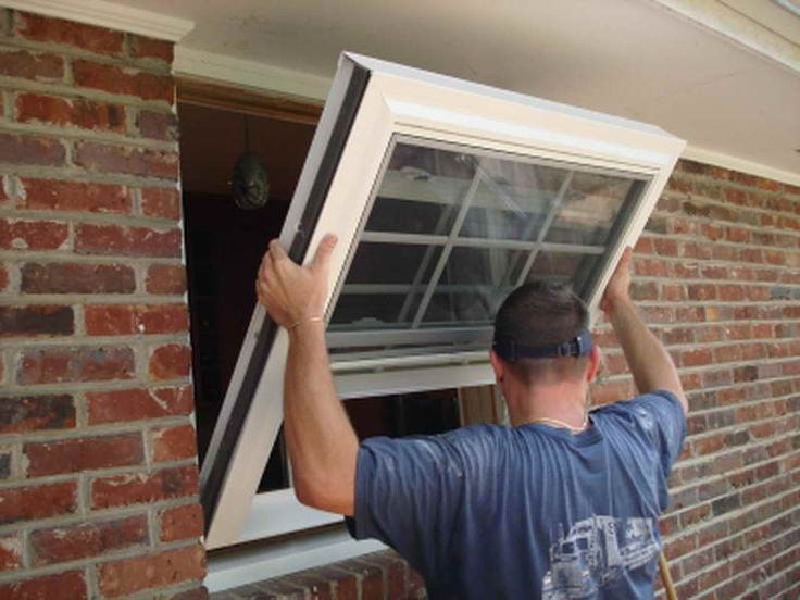 How to install vinyl replacement windows for New replacement windows