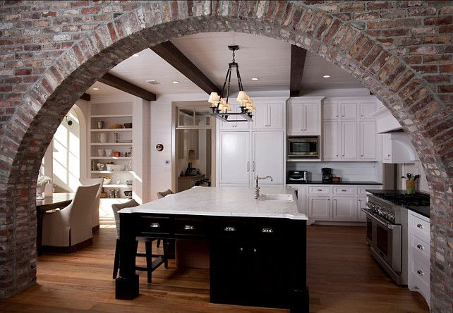rustic kitchen with modern country element