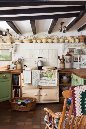 simple cottage kitchen