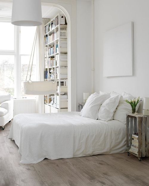super white bedroom design