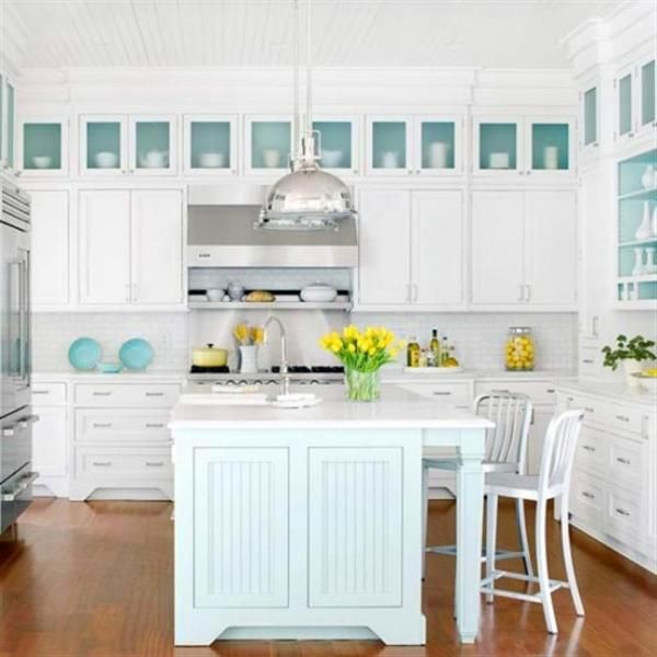 Designing The Kitchen. Traditional Coastal Style Kitchen