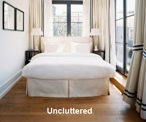 uncluttered-bedroom