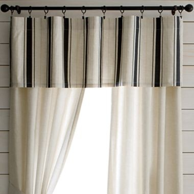window valance stripes