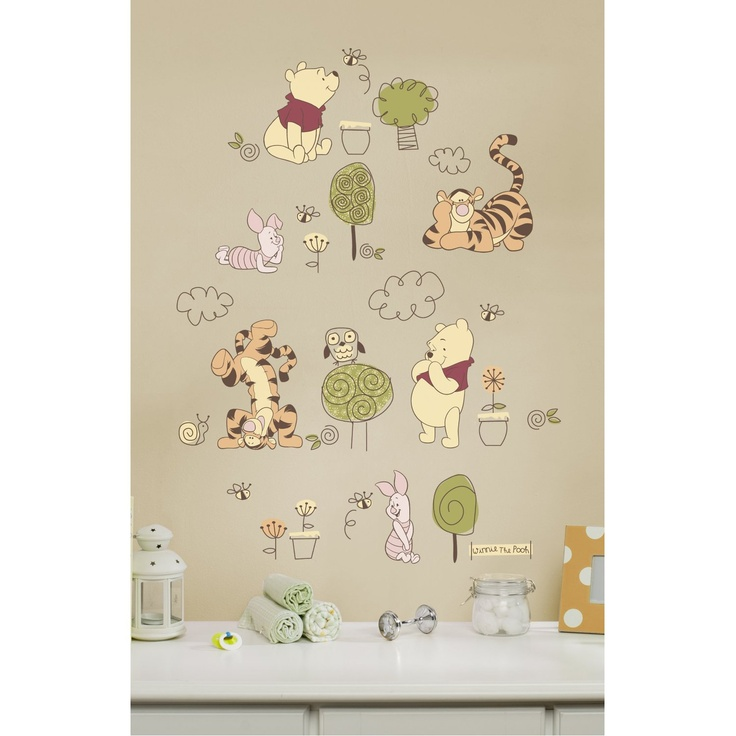 winnie wall decal