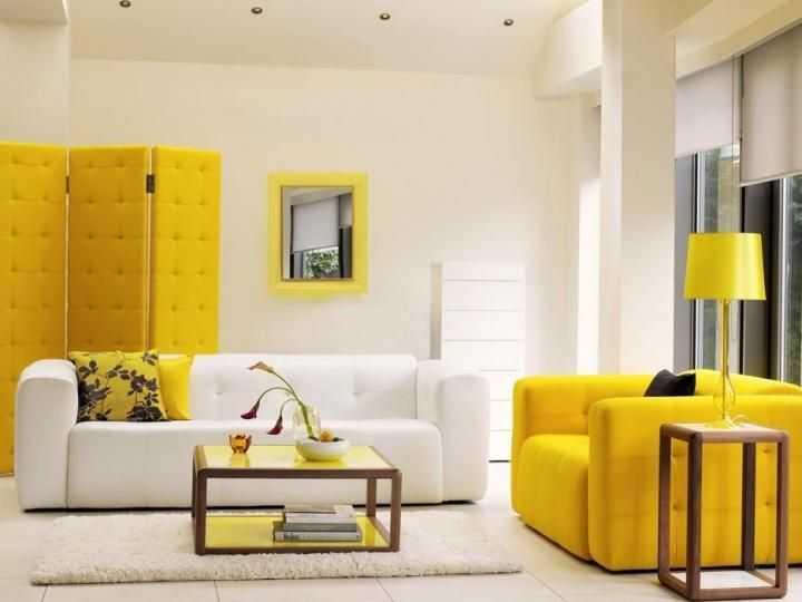 Yellow White Color Scheme