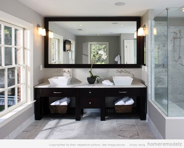 Custom Bathroom Vanity Mirrors