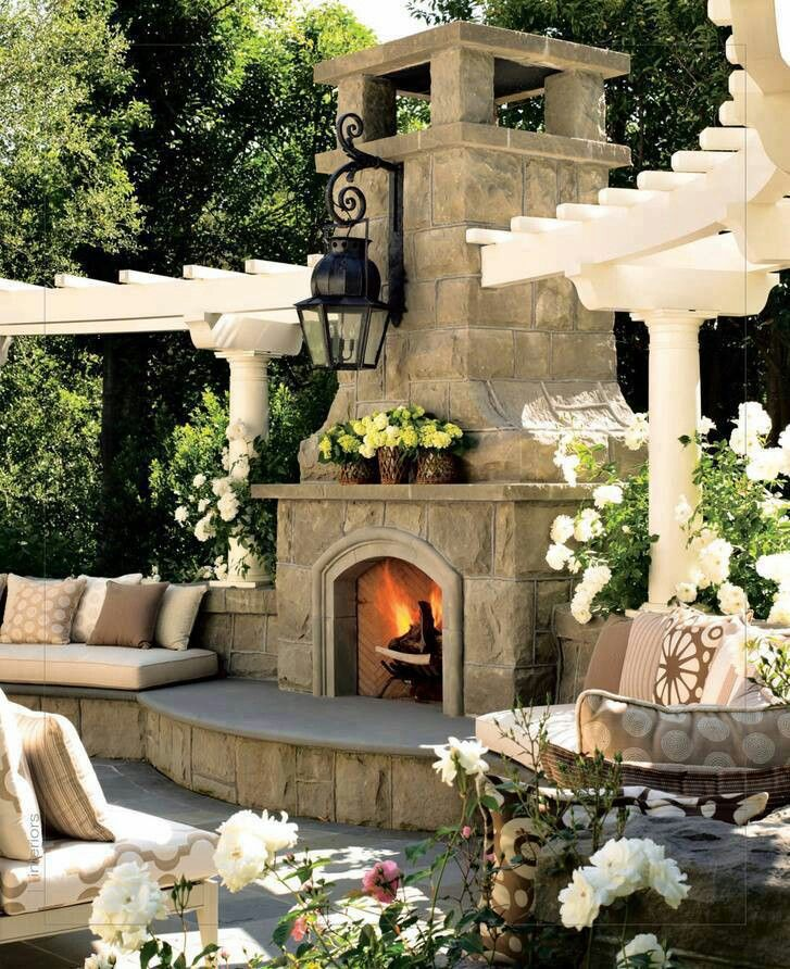 Outdoor Fireplace Plans - Building Your Own Fireplace on Building Your Own Outdoor Fireplace id=14701